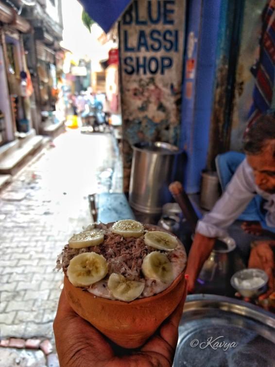 Famous lassi shop