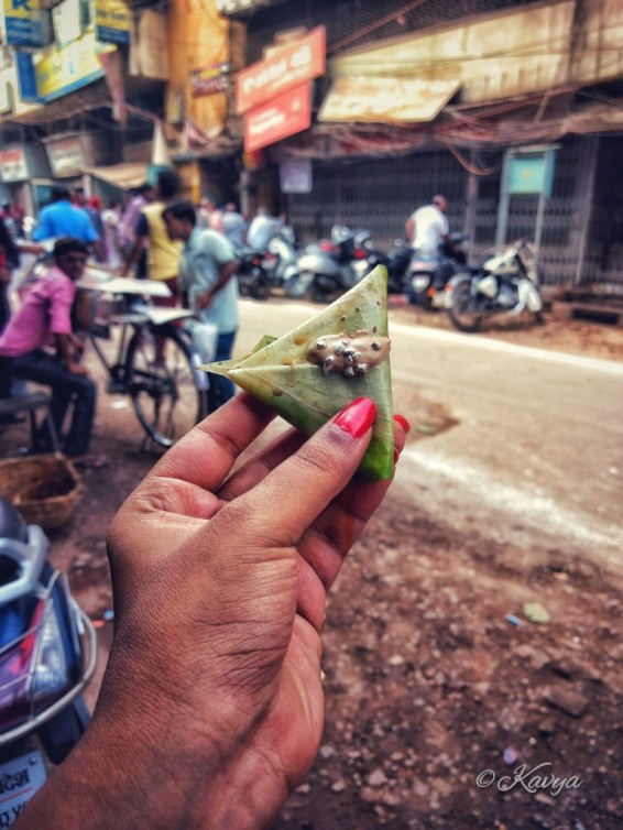 Different flavors of paan